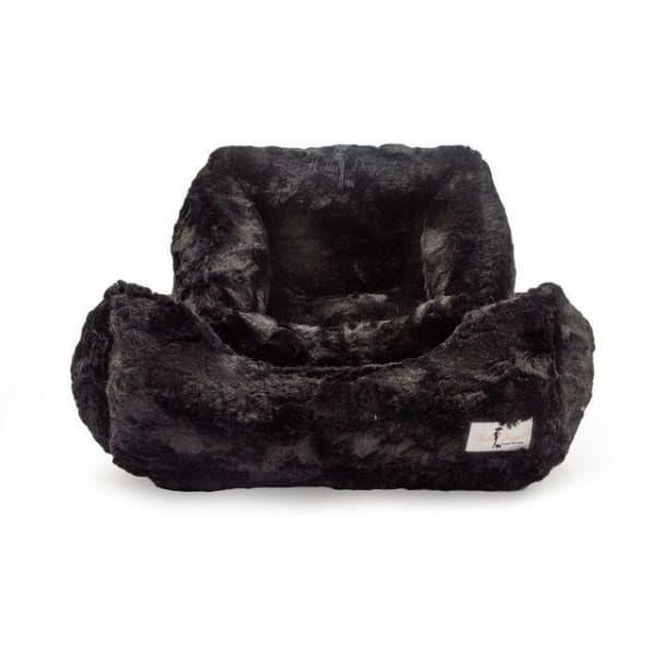 Bella Dog Bed Black by Hello Doggie - Luxury Dog Beds - 1