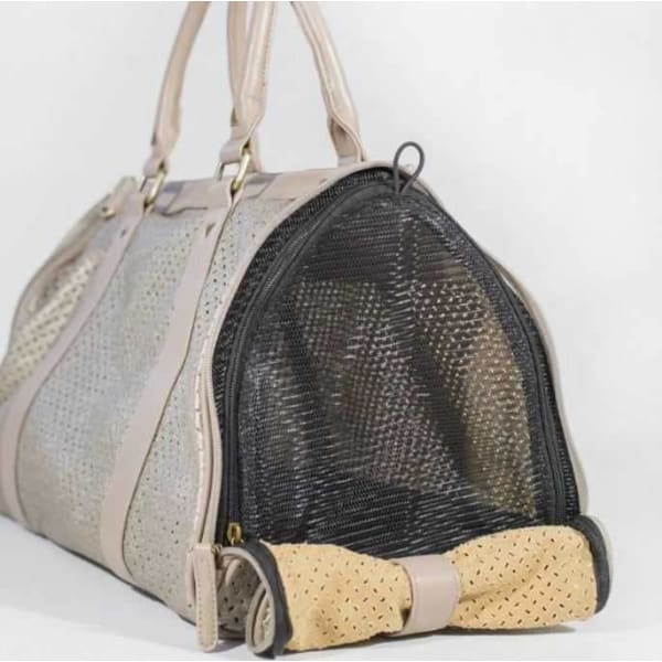 BK Atelier Mia Champagne Dog Carrier Kennel - Dog Travel Kennels - 2