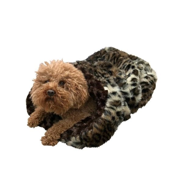 Brown Animal Cozy for Dogs - Cozys & Snuggle Dog Beds - 1