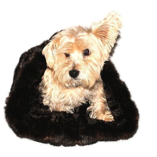Brown Mink Cozy for Dogs - Cozys & Snuggle Dog Beds - 2