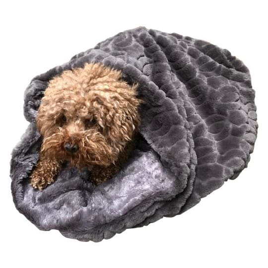Charcoal Grey Koala Cozy for Dogs - Cozys & Snuggle Dog Beds - 1