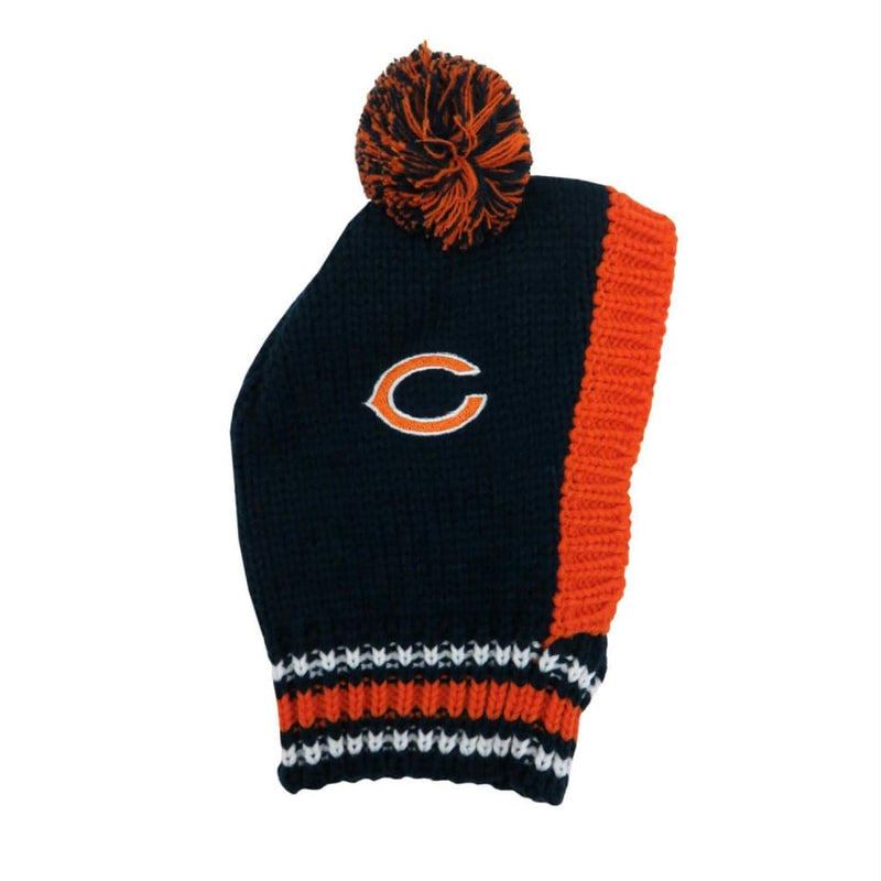 Chicago Bears Dog Knit Hat for Dogs - NFL Knit Hat for Dogs - 1