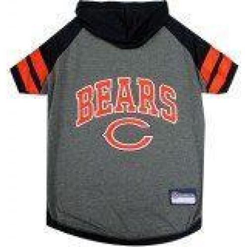 Chicago Bears Hoody Dog Tee - 1