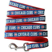 Chicago Cubs Dog Leash Ribbon - MLB Dog Leashes - 1