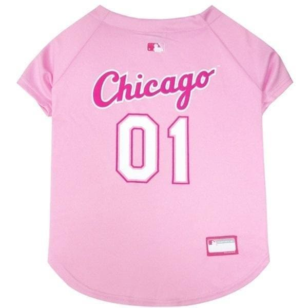 Chicago White Sox Dog Jersey Pink - 1
