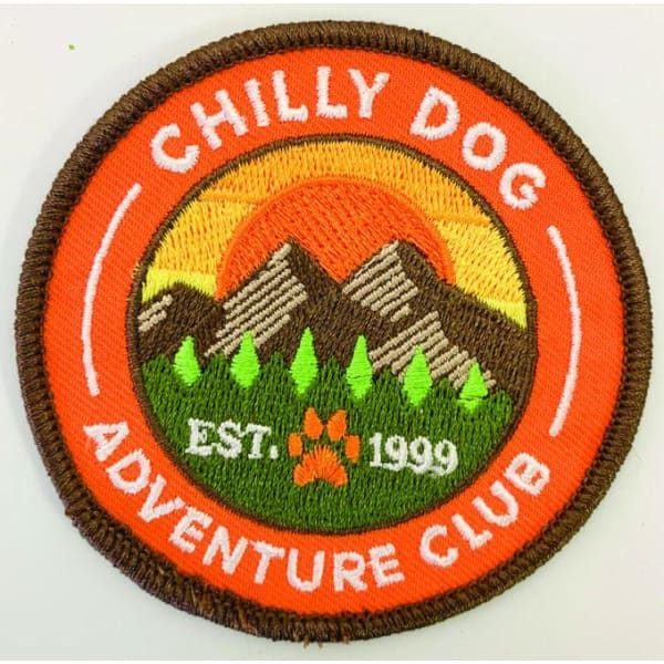 Chilly Dog Adventure Club Patch Sweater - Knit Dog Sweaters - 2