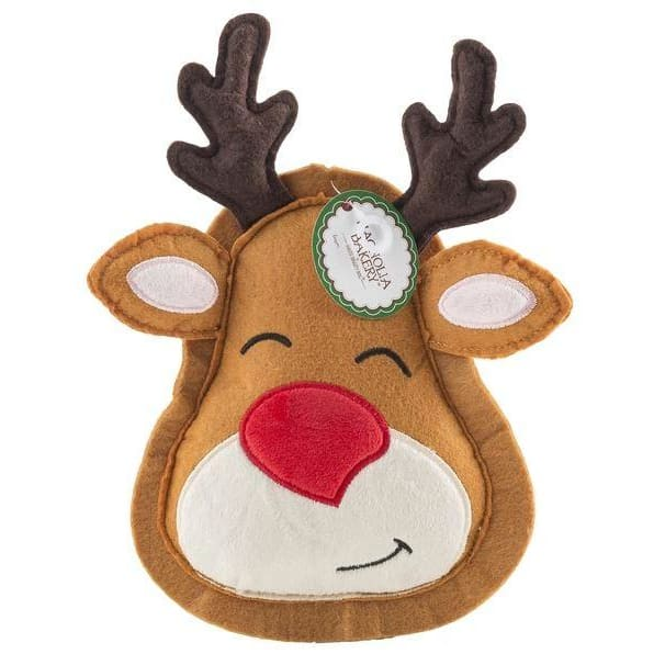 Christmas Reindeer Cookie Toy for Dogs - Plush Dog Toys - 1