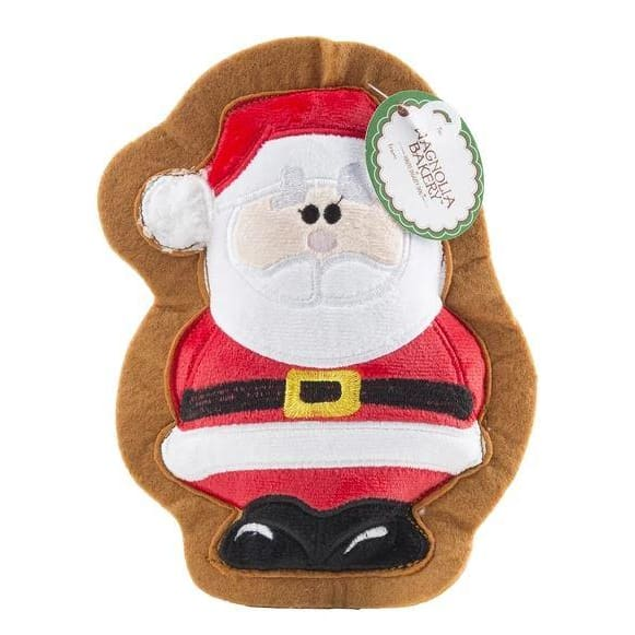 Christmas Santa Cookie Toy for Dogs - Plush Dog Toys - 1