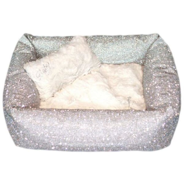 Crystal Couture Dog Bed Imperial - Luxury Dog Beds - 3