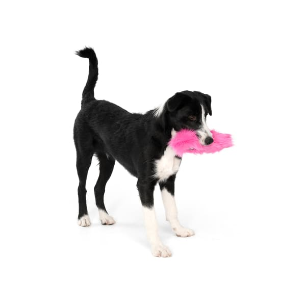 Custer Dog Toy in Hot Pink