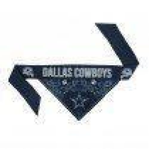Dallas Cowboys Dog Tie On Bandana - 2