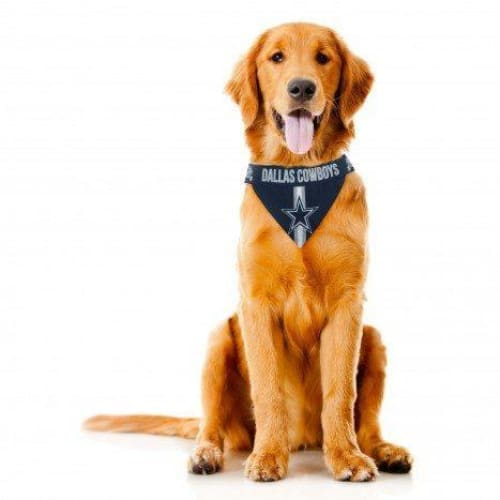 Dallas Cowboys Dog Tie On Bandana - 1