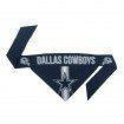 Dallas Cowboys Dog Tie On Bandana - 3