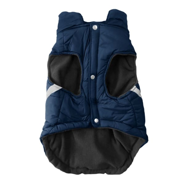 Denver Broncos Pet Puffer Vest for Dogs - NFL Pet Puffer Vest for Dogs - 2