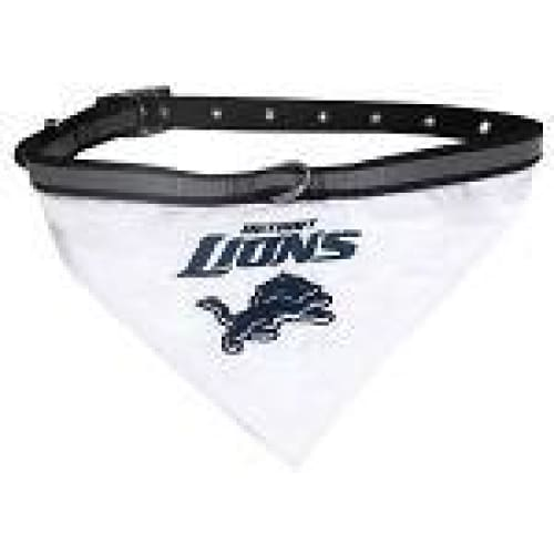 Detroit Lions Dog Collar Bandana - 1