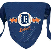 Detroit Tigers Dog Bandana Mesh - 1