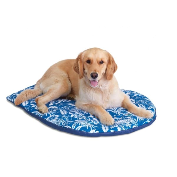 Dog Travel Bed Hawaiian - Dog Travel Bed - 1