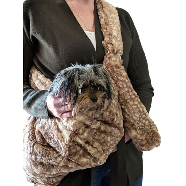 Fawn Adjustable Sling Dog Carrier - Dog Purse Carriers - 1