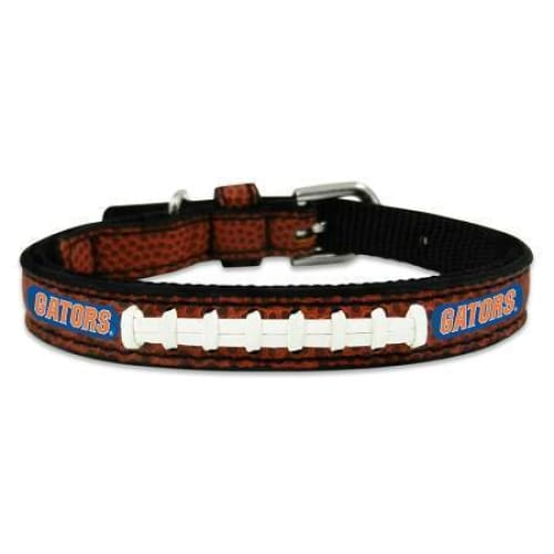 Florida Gators Dog Collar Leather - 1