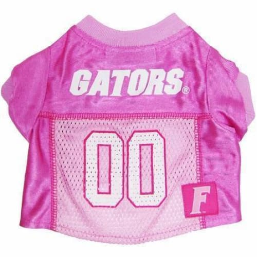 Florida Gators Dog Jersey Pink - 1