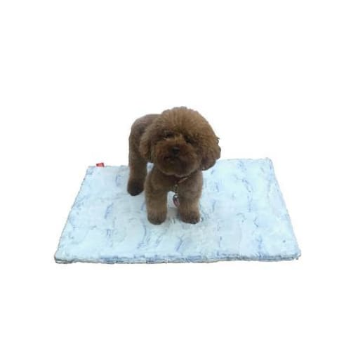 Frosted Cornflower Minkie Binkie Blanket for Dogs - Dog Blankets - 1