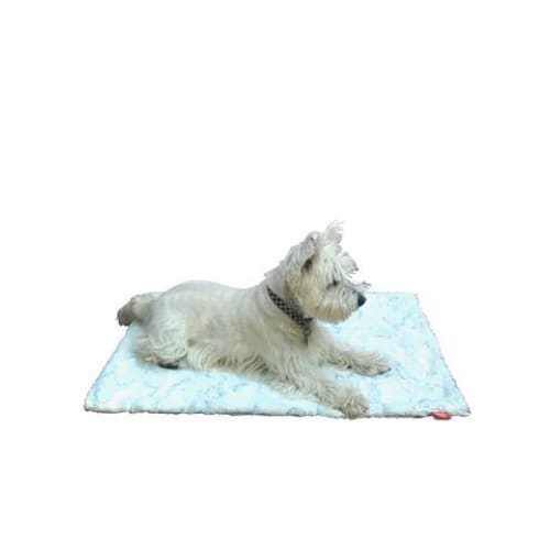 Frosted Saltwater Minkie Binkie Blanket for Dogs - Dog Blankets - 1