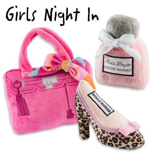 Girls Night In Plush Dog Toy Bundle - Plush Dog Toys - 1