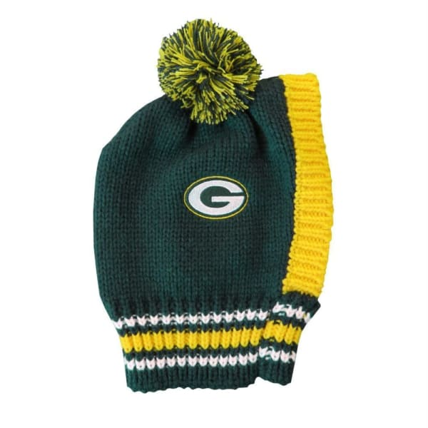 Green Bay Packers Dog Knit Hat for Dogs - NFL Knit Hat for Dogs - 2
