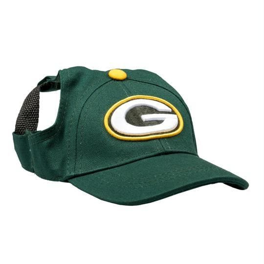 Green Bay Packers Pet Baseball Hat for Dogs - NFL Knit Hat for Dogs - 1