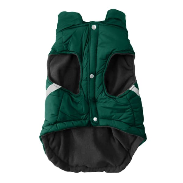 Green Bay Packers Pet Puffer Vest for Dogs - NFL Pet Puffer Vest for Dogs - 2