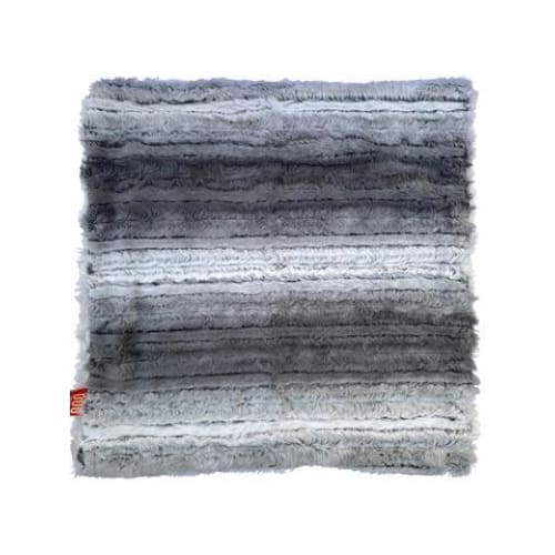 Grey Ombre Minkie Binkie Blanket for Dogs - Dog Blankets - 3