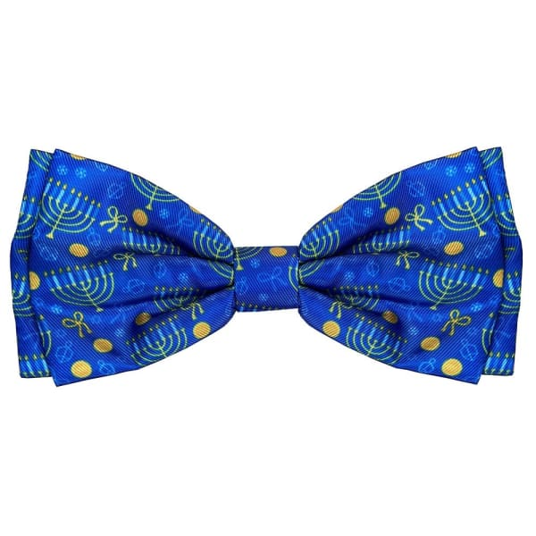 Hanukkah Bow Tie for Dogs - Dog Bow Ties - 1