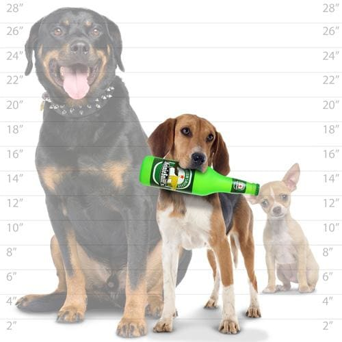 Heinie Sniff'n Beer Bottle Toy for Dogs - Rubber Dog Toys - 4
