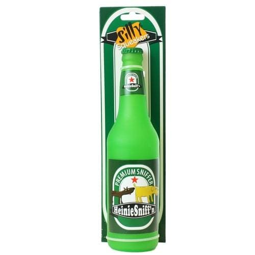 Heinie Sniff'n Beer Bottle Toy for Dogs - Rubber Dog Toys - 3