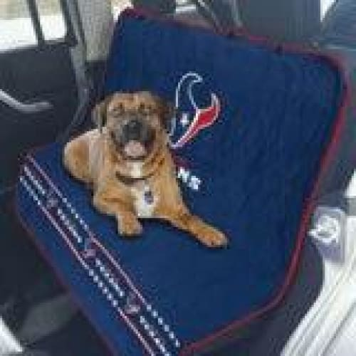 buy online 352ff efc94 Houston Texans Car Seat Cover for Dogs