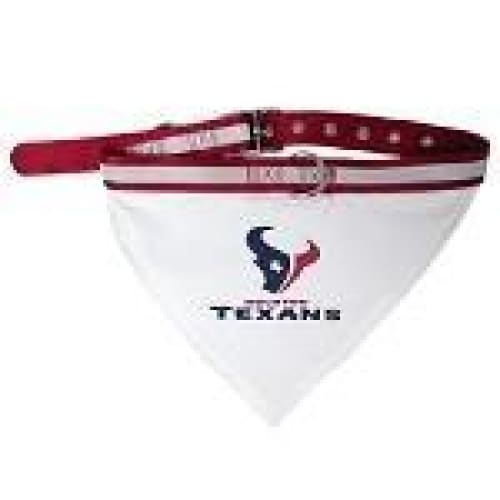 Houston Texans Dog Collar Bandana - 1