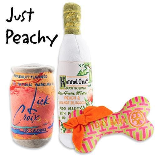 Just Peachy Plush Dog Toy Bundle - Plush Dog Toys - 1