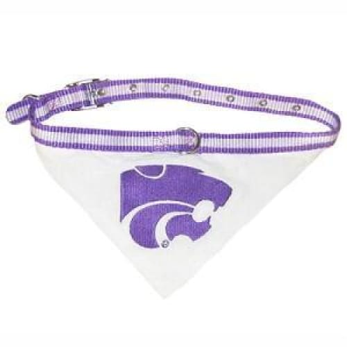 Kansas State Dog Collar Bandana - 1