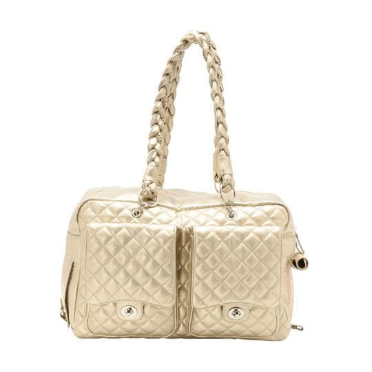 Kwigy-Bo Dog Carrier Gold Alex Luxe - 1