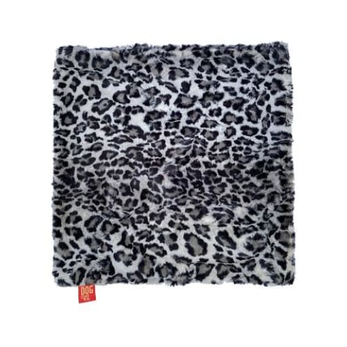 Leopard Steel Minkie Binkie Blanket for Dogs - Dog Blankets - 4