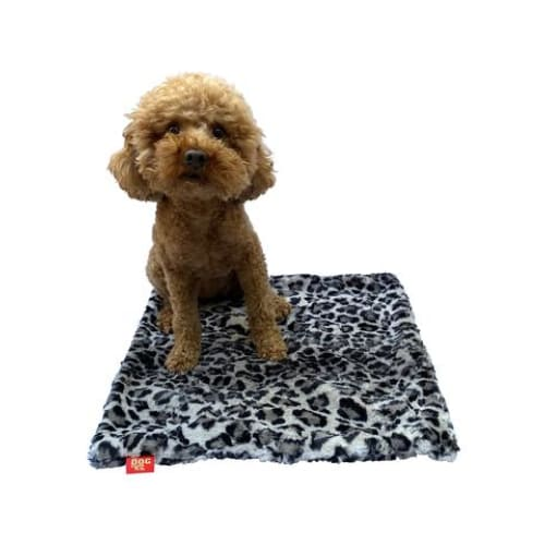 Leopard Steel Minkie Binkie Blanket for Dogs - Dog Blankets - 5