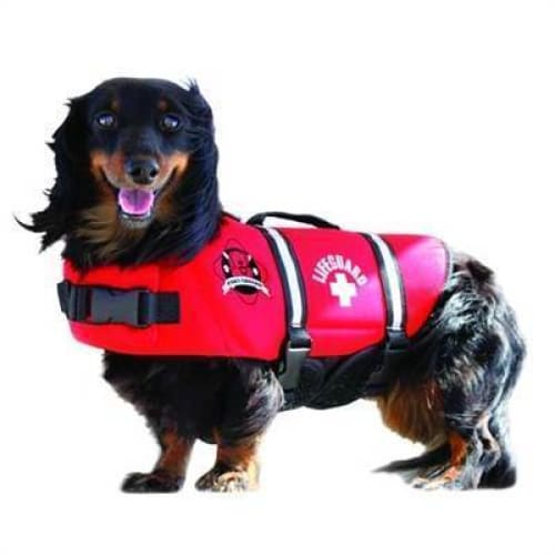 Lifeguard Neoprene Dog Life Jacket - 1