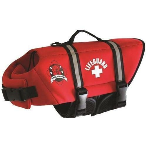 Lifeguard Neoprene Dog Life Jacket - 2
