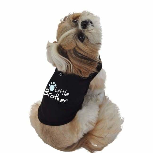 Little Brother Dog Shirt - Personality Dog Shirts - 1