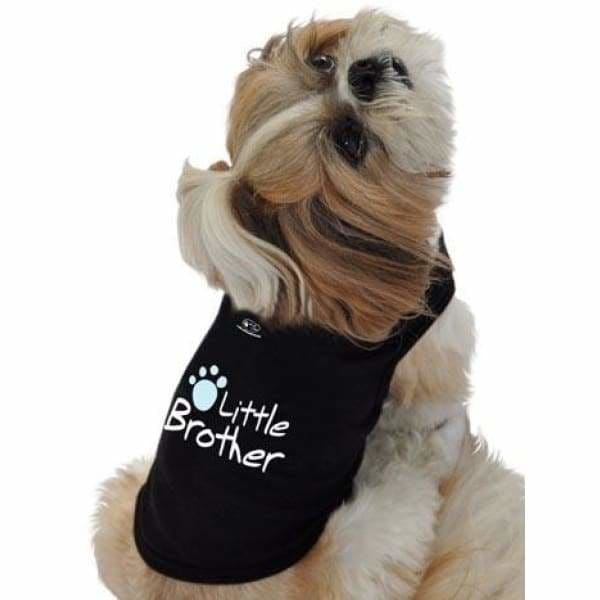 Little Brother Dog Shirt - Personality Dog Shirts - 2