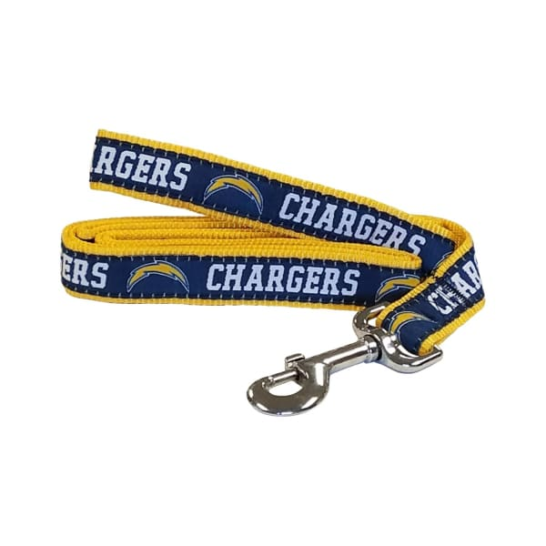 Los Angeles Chargers Dog Leash Ribbon - NFL Dog Leashes - 1