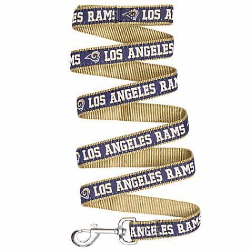 Los Angeles Rams Dog Leash Ribbon - 1