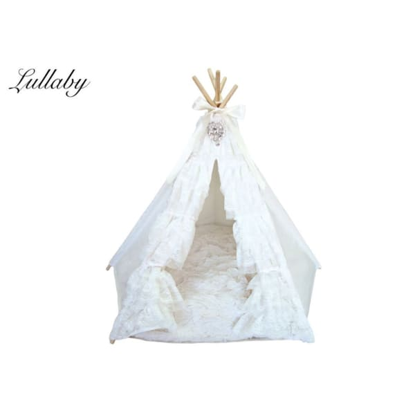 Lullaby Teepee for Dogs - Tent Dog Beds - 1