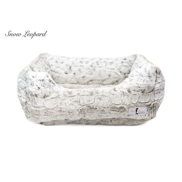 Luxe Dog Bed Pearl Leopard by Hello Doggie - 1