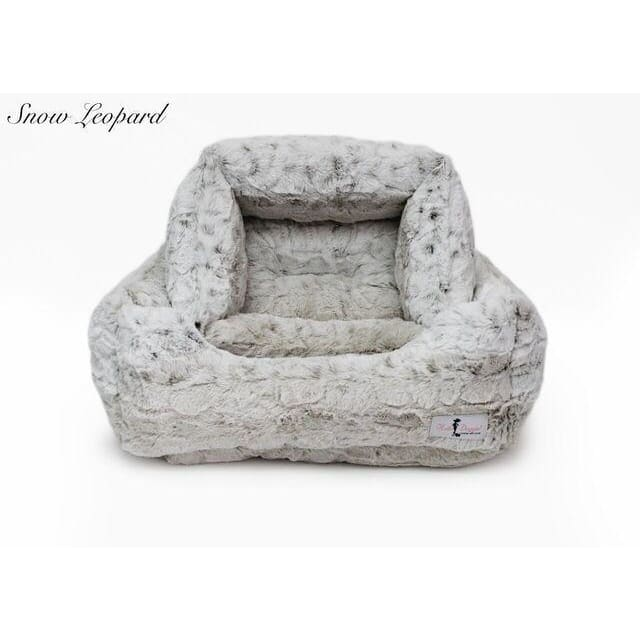 Luxe Dog Bed Pearl Leopard by Hello Doggie - 2